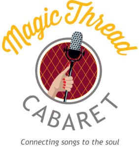Magic Thread Cabaret logo, by Klein and Alvarez Productions