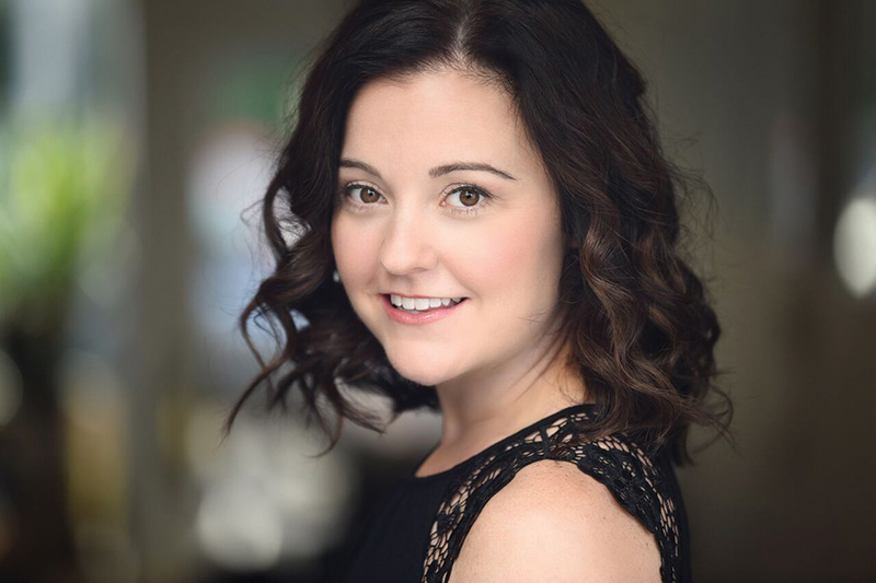 Melissa Schott, performer with Magic Thread Cabaret